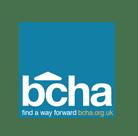 BCHA logo blue background 2